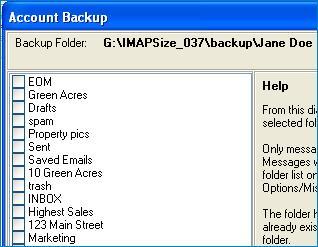 Sample Folder List